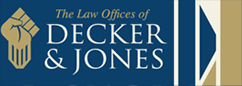 Decker jones law logo